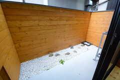 庭付きです。(101号室)(2014-12-10,専有部,ROOM,1F)