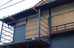 外から見た2階部の様子。(2014-12-10,共用部,OUTLOOK,1F)