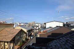 窓からの景色。(301号室)(2010-12-26,専有部,ROOM,3F)