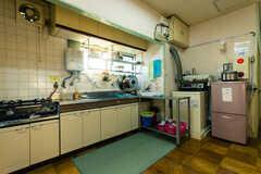 キッチンの様子。 ※事業者様提供素材(2017-07-26,共用部,KITCHEN,1F)