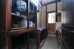 キッチンの様子。(2013-06-23,共用部,KITCHEN,1F)