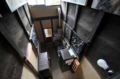キッチンを見下ろすとこんな感じ。(2013-06-23,共用部,OTHER,2F)