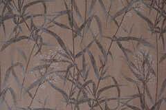 リビングの天井は竹の模様。壁紙を利用しているそう。(2017-01-17,共用部,LIVINGROOM,1F)