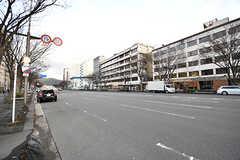 京都市役所前駅のある御池通の様子。(2017-01-17,共用部,ENVIRONMENT,1F)
