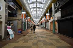 寺町通のアーケード商店街。(2017-01-17,共用部,ENVIRONMENT,1F)