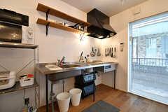 キッチンの様子。(2017-01-17,共用部,KITCHEN,1F)