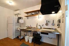 キッチンの様子2。(2017-01-17,共用部,KITCHEN,1F)