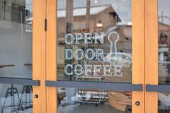 コーヒーショップの入り口。(2017-01-17,共用部,OTHER,1F)