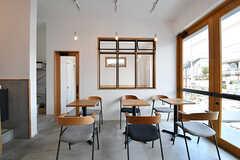 コーヒーショップの様子3。(2017-01-17,共用部,OTHER,1F)