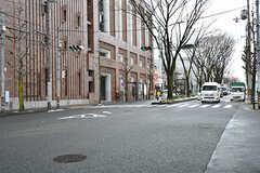 白川通までは徒歩1分かからないほど。(2017-01-17,共用部,ENVIRONMENT,1F)