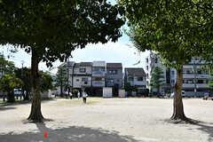 建物の目の前は公園です。(2016-10-12,共用部,ENVIRONMENT,1F)