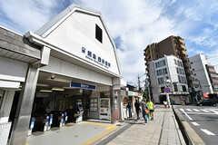 阪急電鉄京都線・西京極駅の様子。(2016-10-12,共用部,ENVIRONMENT,1F)
