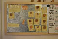 今お風呂に入っている人、次にお風呂に入る人。(2012-03-26,共用部,OTHER,1F)