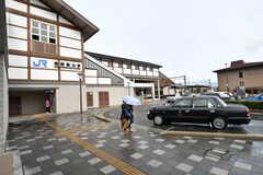 各線・嵯峨嵐山駅の様子。(2017-03-07,共用部,ENVIRONMENT,1F)