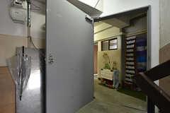 廊下の入り口。(2016-07-04,共用部,OTHER,3F)