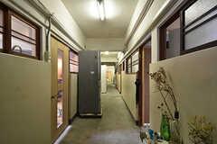 廊下の様子。(2016-07-04,共用部,OTHER,3F)