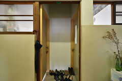 左手が303号室、右手が304号室です。(2016-07-04,共用部,OTHER,3F)