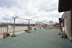 屋上の様子。(2016-07-04,共用部,OTHER,4F)
