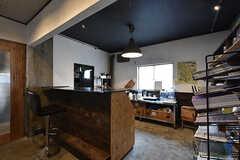 コワーキングスペースのキッチン。基本的にはイベント時に使用します。(2016-07-04,共用部,KITCHEN,2F)