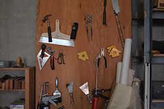 工具は壁に収納されています。(2016-07-04,共用部,OTHER,2F)