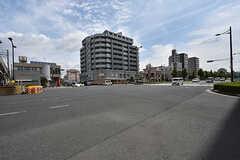JR・丹波口駅前の様子。(2016-07-04,共用部,ENVIRONMENT,1F)