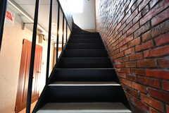 階段の様子。(2017-06-05,共用部,OTHER,1F)