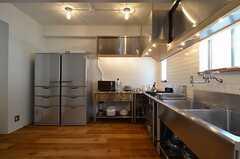キッチンの様子2。(2014-08-07,共用部,KITCHEN,2F)