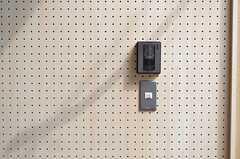 インターホンの様子。(2015-03-03,周辺環境,ENTRANCE,1F)