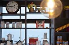 キッチンのディスプレイは、喫茶店の雰囲気。(2015-03-03,共用部,LIVINGROOM,1F)