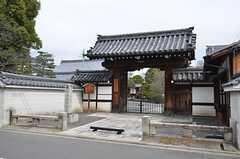 最寄りの寺は阿弥陀寺です。(2015-03-03,共用部,ENVIRONMENT,1F)
