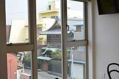 窓の外の景色。(2015-02-11,共用部,LIVINGROOM,3F)