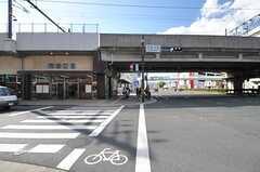 JR山陰線・丹波口駅の様子。(2013-10-12,共用部,ENVIRONMENT,1F)