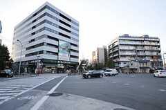 阪急京都線・四条大宮駅前の様子。(2013-10-12,共用部,ENVIRONMENT,4F)