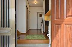正面玄関から見た内部の様子。(2014-09-10,周辺環境,ENTRANCE,1F)