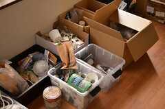 専有部の様子。(105号室)※DIYの道具はある程度揃っています。(2014-09-10,専有部,ROOM,1F)