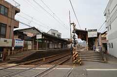 叡山鉄道・一乗寺駅の様子。(2014-09-10,共用部,ENVIRONMENT,1F)