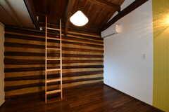 専有部の様子。201、204号室は収納スペースとしてロフトが用意されています。(201号室)(2017-08-08,専有部,ROOM,2F)