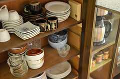 食器類も可愛らしい。(2014-09-09,共用部,OTHER,1F)