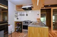 キッチンの様子。(2014-09-09,共用部,KITCHEN,1F)
