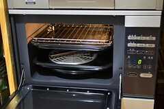 オーブン付きです。(2014-09-09,共用部,KITCHEN,1F)