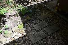 専用庭の様子。(102号室)(2014-09-09,専有部,ROOM,1F)