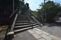 京都市営地下鉄東西線・蹴上駅からシェアハウスへ向かう道の様子2。(2014-09-09,共用部,ENVIRONMENT,1F)