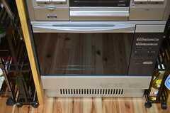 キッチンにはオーブンがあります。(2014-12-11,共用部,KITCHEN,1F)