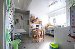 キッチンの様子。(2014-03-03,共用部,KITCHEN,4F)