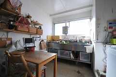 キッチンの様子2。(2014-03-03,共用部,KITCHEN,4F)