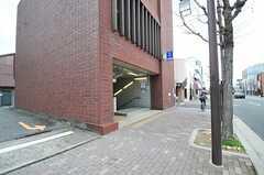 京都市営地下鉄烏丸線・鞍馬口駅の様子。(2014-03-03,共用部,ENVIRONMENT,1F)