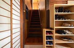 階段の様子。(2016-02-16,共用部,OTHER,1F)