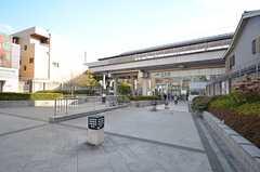 JR・円町駅の様子。(2016-02-16,共用部,ENVIRONMENT,1F)