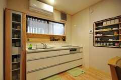 キッチンの様子。(2012-03-26,共用部,KITCHEN,1F)
