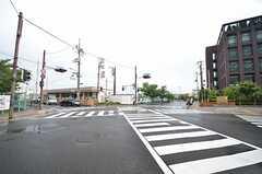 JR東海道本線・長岡京駅前の交差点の様子。(2015-07-06,共用部,ENVIRONMENT,1F)